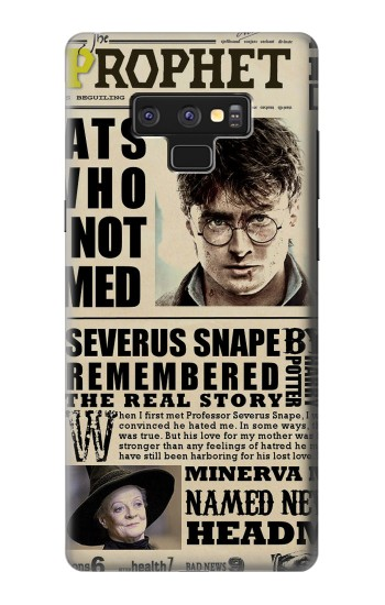 Printed Harry Potter Daily Prophet Samsung Note9 Case