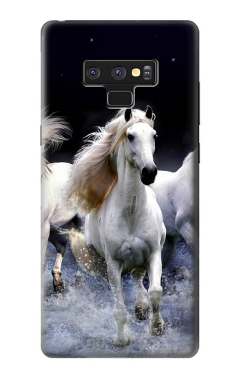 Printed White Horse Samsung Note9 Case