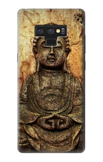 Printed Buddha Rock Carving Samsung Note9 Case