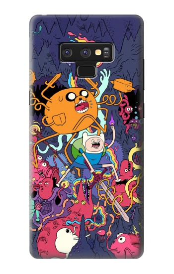 Printed Adventure Time Samsung Note9 Case