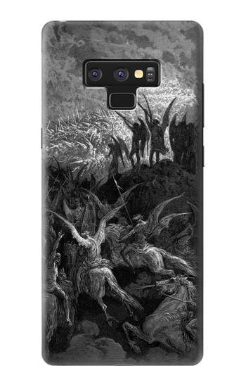 Printed Gustave Dore Paradise Lost Samsung Note9 Case