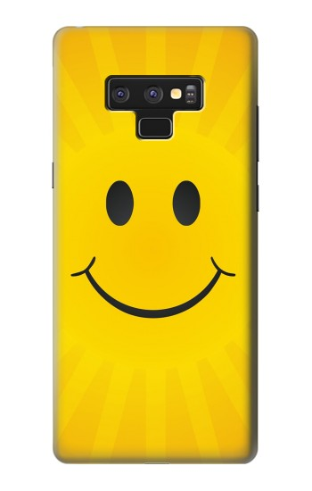 Printed Yellow Sun Smile Samsung Note9 Case