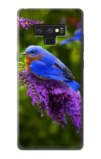 Printed Bluebird of Happiness Blue Bird Samsung Note9 Case