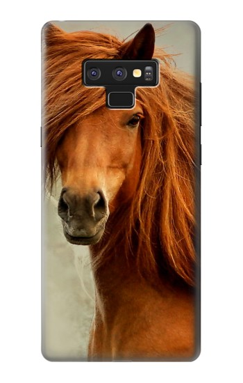 Printed Beautiful Brown Horse Samsung Note9 Case
