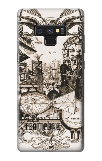 Printed Steampunk Drawing Samsung Note9 Case