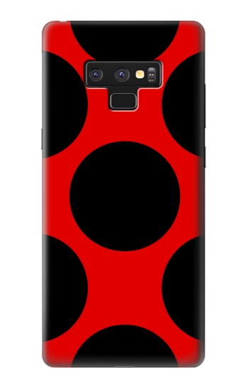 Printed Lady bug Dot Pattern Samsung Note9 Case