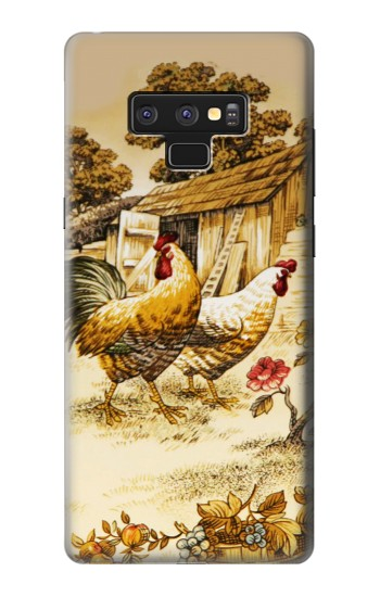 Printed French Country Chicken Samsung Note9 Case