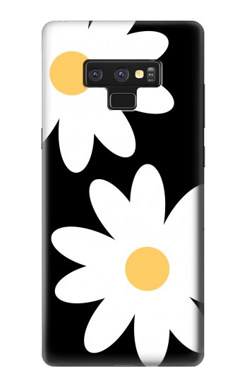 Printed Daisy White Flowers Samsung Note9 Case