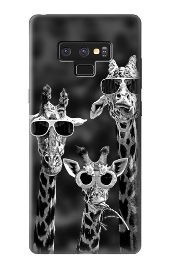 Printed Giraffes With Sunglasses Samsung Note9 Case