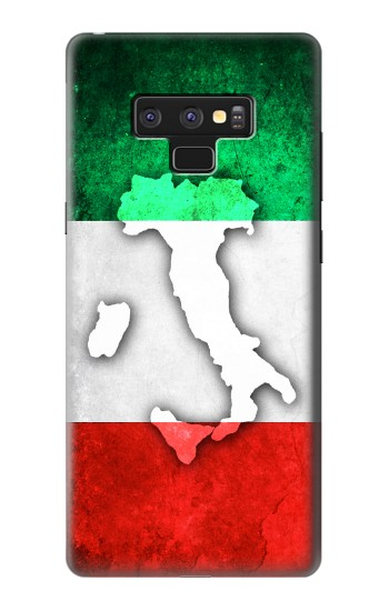 Printed Italy Flag Samsung Note9 Case