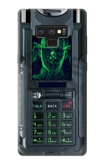 Printed The Matrix Mobile Phone Graphic Printed Samsung Note9 Case
