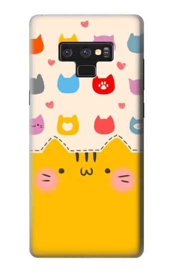 Printed Cute Cat Pattern Samsung Note9 Case