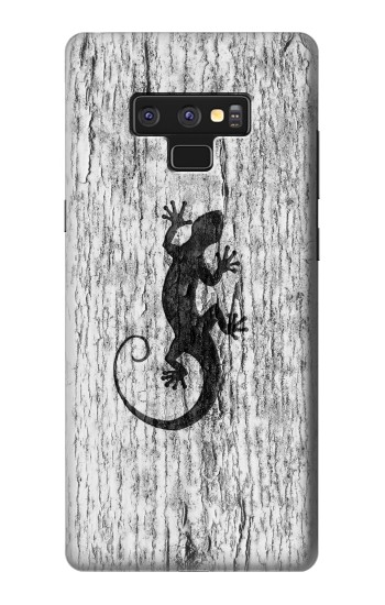 Printed Gecko Wood Graphics Printed Samsung Note9 Case