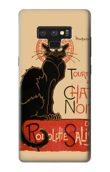 Printed Chat Noir The Black Cat Samsung Note9 Case