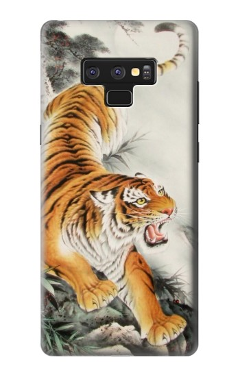 Printed Chinese Tiger Tattoo Painting Samsung Note9 Case