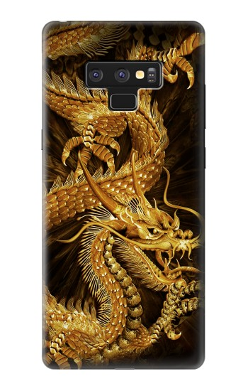 Printed Chinese Gold Dragon Printed Samsung Note9 Case