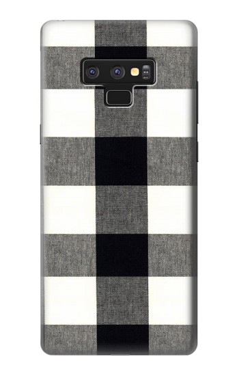 Printed Black and White Buffalo Check Pattern Samsung Note9 Case