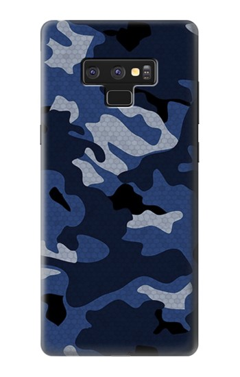 Printed Navy Blue Camouflage Samsung Note9 Case