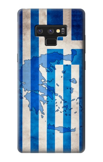 Printed Greece Map Flag Samsung Note9 Case
