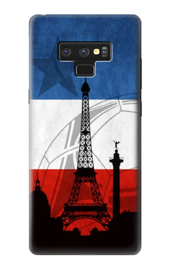 Printed France Football Flag Samsung Note9 Case