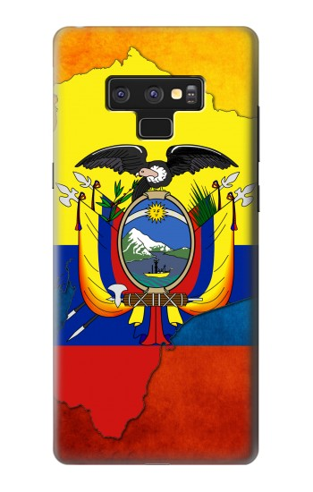 Printed Ecuador Flag Samsung Note9 Case