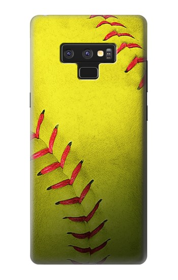 Printed Yellow Softball Ball Samsung Note9 Case