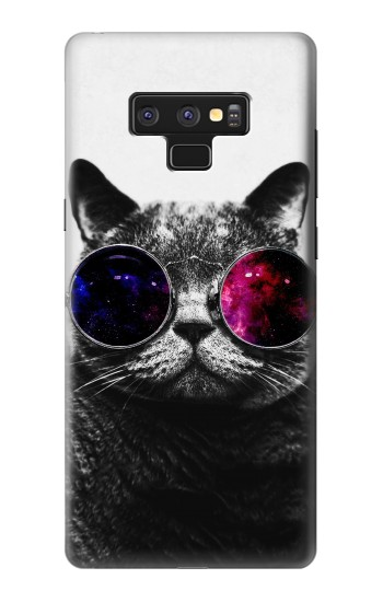 Printed Cool Cat Glasses Samsung Note9 Case