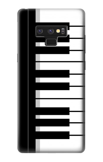 Printed Black and White Piano Keyboard Samsung Note9 Case
