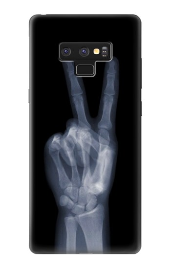 Printed X-ray Peace Finger Samsung Note9 Case
