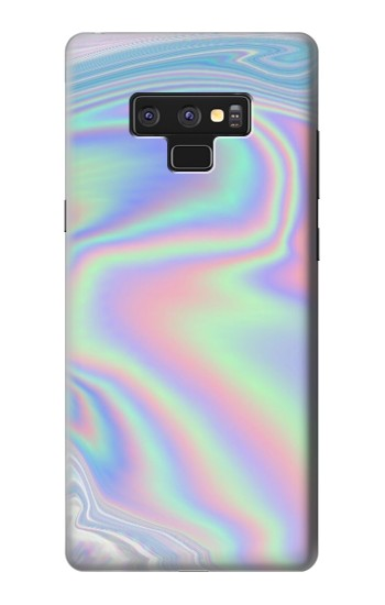Printed Pastel Holographic Photo Printed Samsung Note9 Case