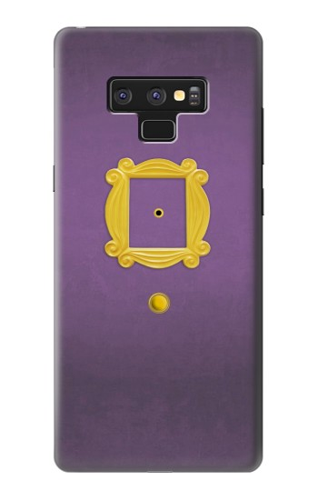 Printed Friends Purple Door Minimalist Samsung Note9 Case