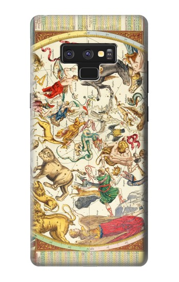 Printed Antique Constellation Map Samsung Note9 Case