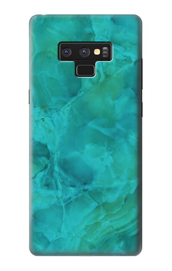 Printed Aqua Marble Stone Samsung Note9 Case