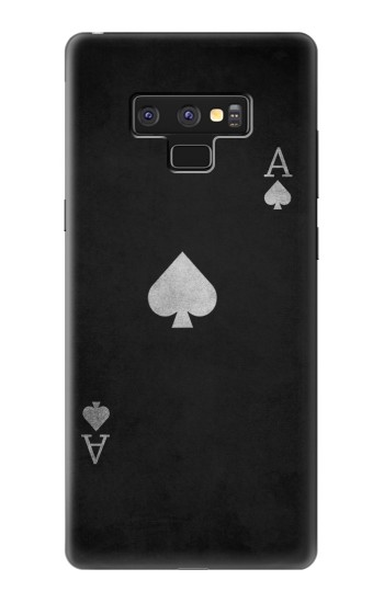 Printed Black Ace of Spade Samsung Note9 Case