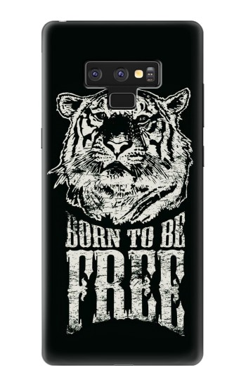 Printed Born to Be Free Tiger Samsung Note9 Case