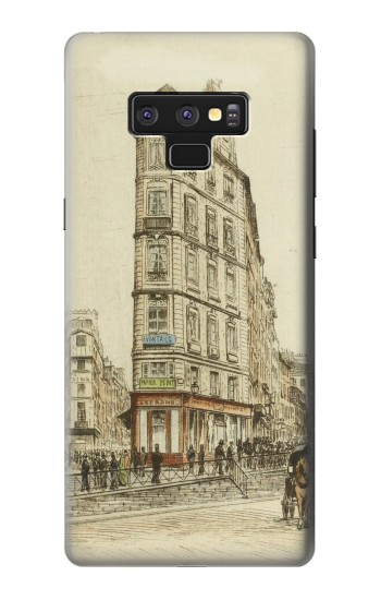 Printed Boulevards of Paris Samsung Note9 Case