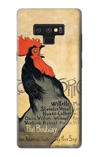 Printed Cocorico Rooster Vintage French Poster Samsung Note9 Case