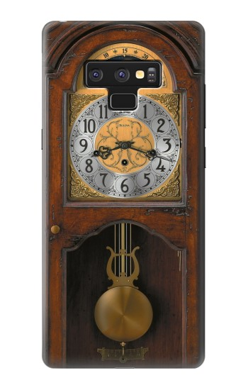 Printed Grandfather Clock Antique Wall Clock Samsung Note9 Case