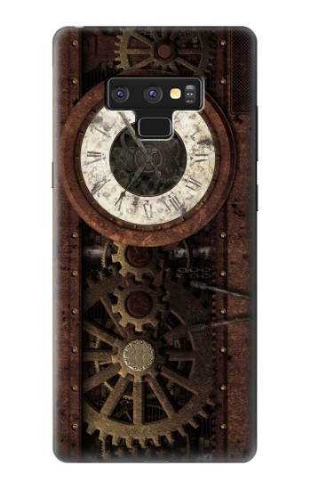 Printed Steampunk Clock Gears Samsung Note9 Case