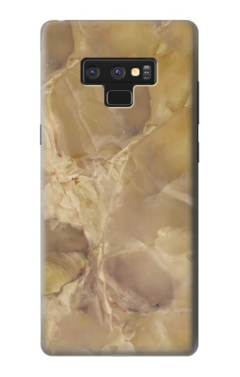 Printed Yellow Marble Stone Samsung Note9 Case
