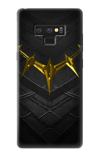 Printed Black Panther Inspired Costume Gold Necklace Samsung Note9 Case