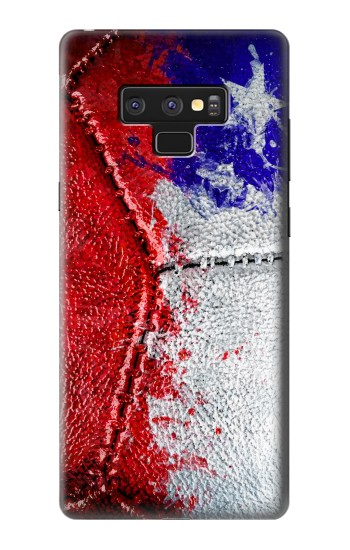 Printed Chile Flag Vintage Football 2018 Samsung Note9 Case