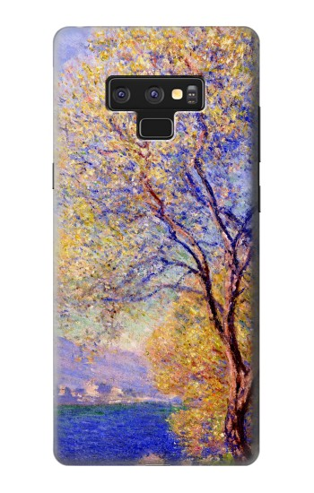 Printed Claude Monet Antibes Seen from the Salis Gardens Samsung Note9 Case