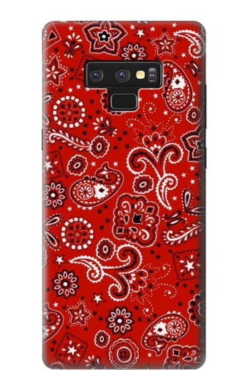 Printed Red Bandana Samsung Note9 Case