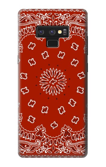 Printed Bandana Red Pattern Samsung Note9 Case