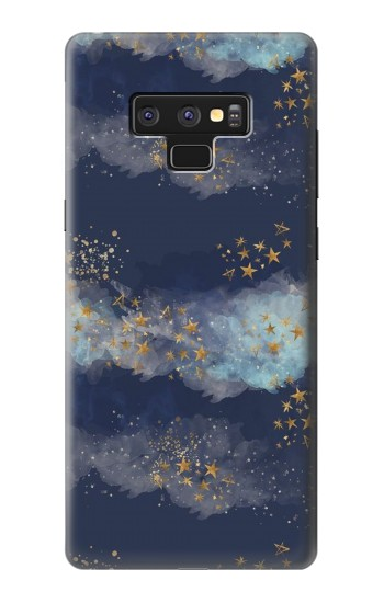 Printed Gold Star Sky Samsung Note9 Case