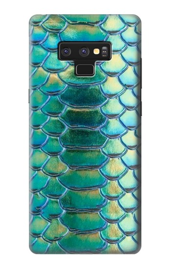 Printed Green Snake Scale Graphic Print Samsung Note9 Case