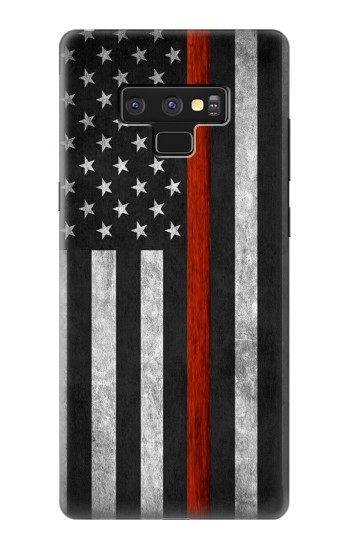 Printed Firefighter Thin Red Line Flag Samsung Note9 Case