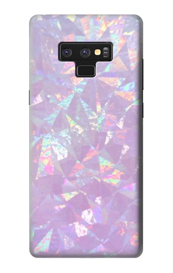 Printed Iridescent Holographic Photo Printed Samsung Note9 Case