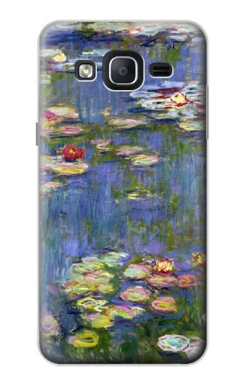 Printed Claude Monet Water Lilies Samsung Galaxy On5 Case